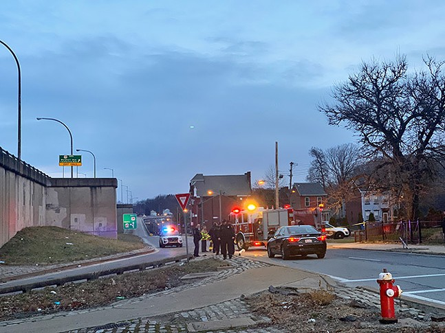 Fatal crash on Chateau Street on Jan. 24 - PHOTO: COURTESY OF RENEE ROSENSTEEL