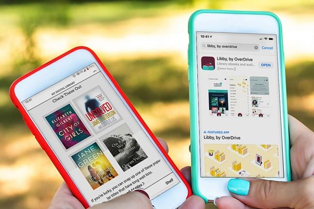 Libby digital library app - PHOTO: RAKUTEN OVERDRIVE