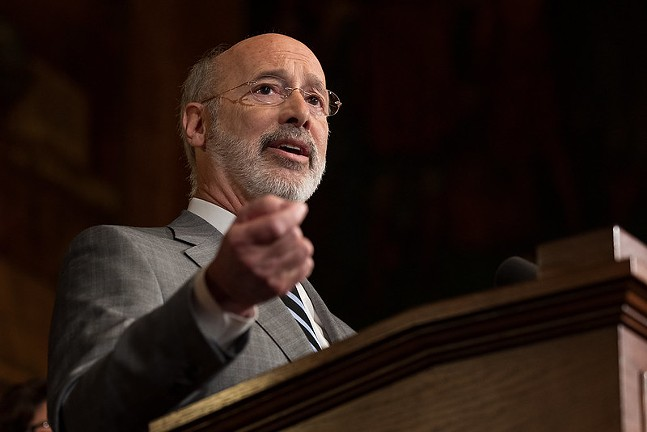 Gov. Wolf renews calls for stricter gun control, including red flag laws and background checks
