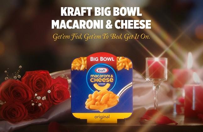 Mac 'n' cheese f*cks now. - PHOTO: KRAFT HEINZ