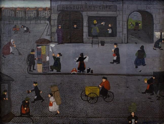 Women Workers of Berlin, Mary Ethel McAuley - UNIVERSITY ART GALLERY
