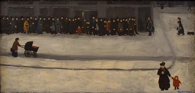 The Butter Line, Mary Ethel McAuley - UNIVERSITY ART GALLERY