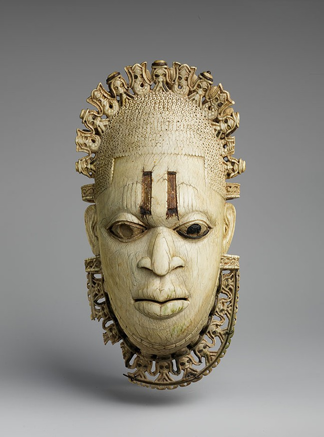 Queen Mother Pendant Mask: Iyoba - PUBLIC DOMAIN, COURTESY OF METROPOLITAN MUSEUM OF ART