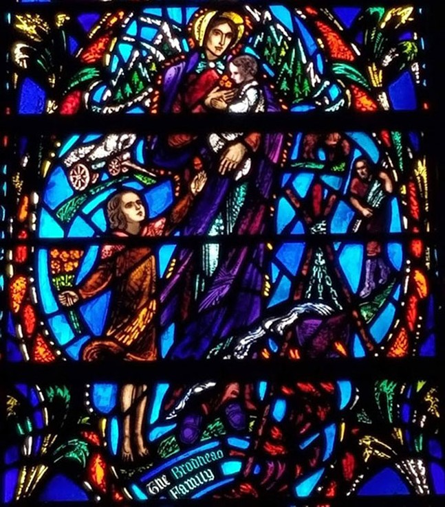 Transept windows at Heinz Memorial Chapel - HEINZ MEMORIAL CHAPEL