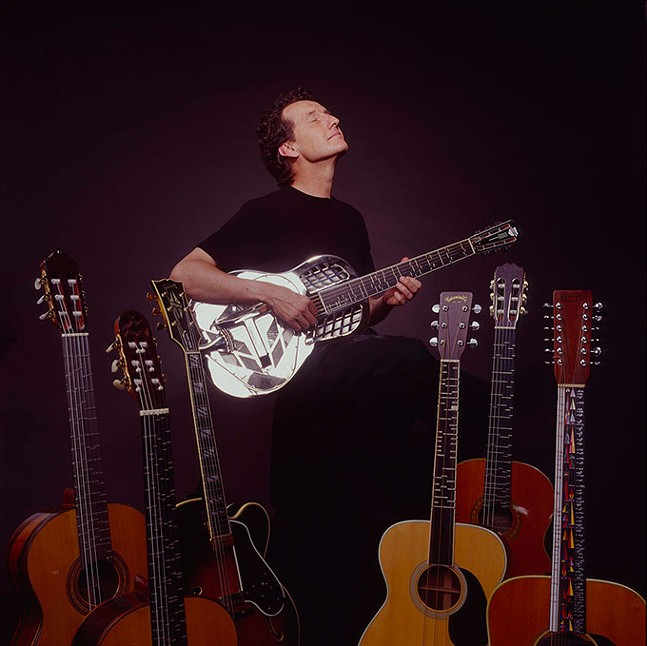 Microtonal Guitarist John Schneider - PHOTO PROVIDED
