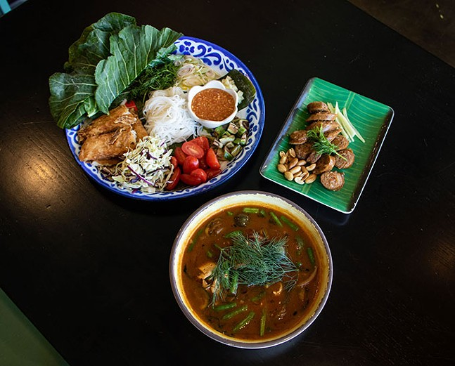 Pun Mieng, Orm Curry, and Sai Oua from KIIN Lao & Thai Eatery - CP PHOTO: MEGAN GLOECKLER