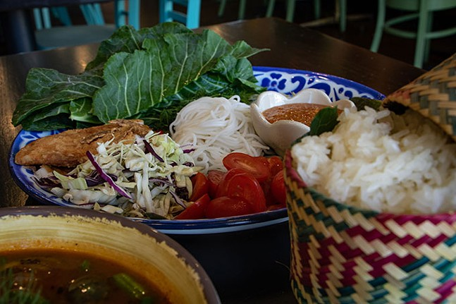 Pun Mieng from KIIN Lao and Thai Eatery - CP PHOTO: MEGAN GLOECKLER