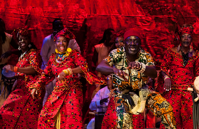 KanKouran West African Dance Company - PHOTO: LAWRENCE GREEN - TIME TRAVELING  MEDIA