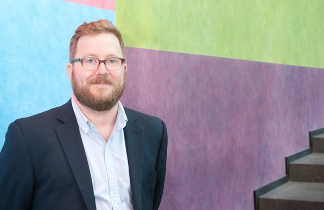 Eric Crosby, newly appointed director of the Carnegie Museum of Art (CMOA) - PHOTO: BRYAN CONLEY/CARNEGIE MUSEUM OF ART