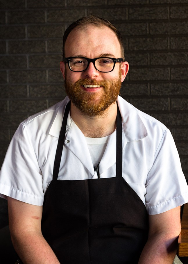 Station chef Curtis Gamble - PHOTO: DAVE BRYCE