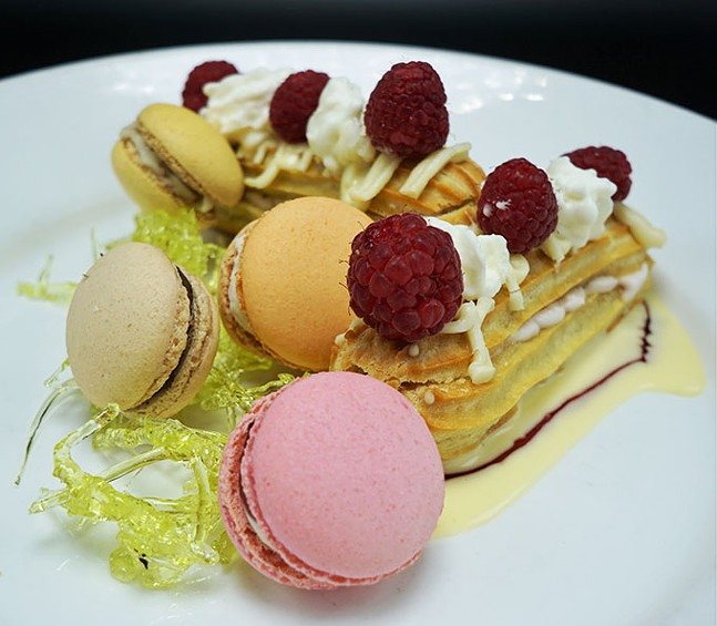 Macarons and eclairs at Jean Louis - PHOTOS: COURTESY OF JEAN LOUIS PARISIAN BISTRO
