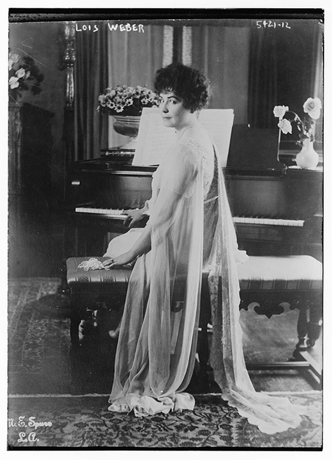 Lois Weber - COURTESY OF LIBRARY OF CONGRESS