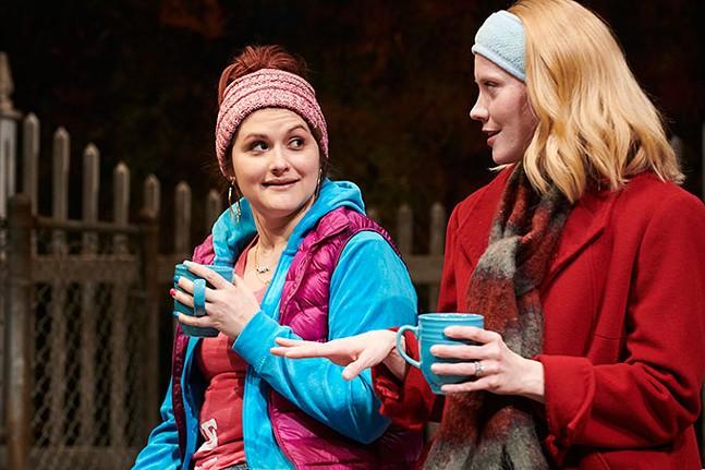 Julianne Avolio and Sarah Goeke in Cry It Out  - KRISTI JAN HOOVER