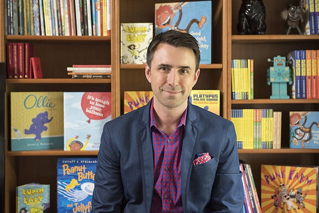 Author Jarrett J. Krosoczka - PHOTO: DEREK FOWLES