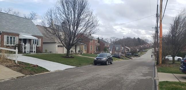 Street in Baldwin Township - CP PHOTO: JOSH OSWALD