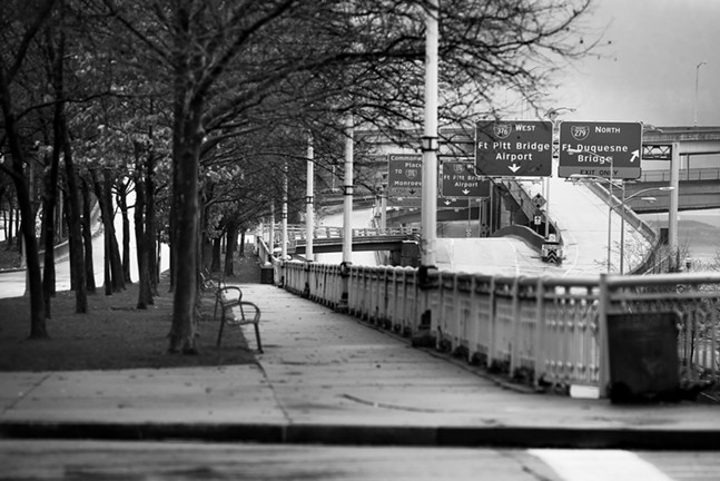 Fort Duquesne Boulevard - CP PHOTO: JARED WICKERHAM