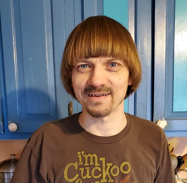 Weird Paul at home - PHOTO: PAUL PETROSKEY