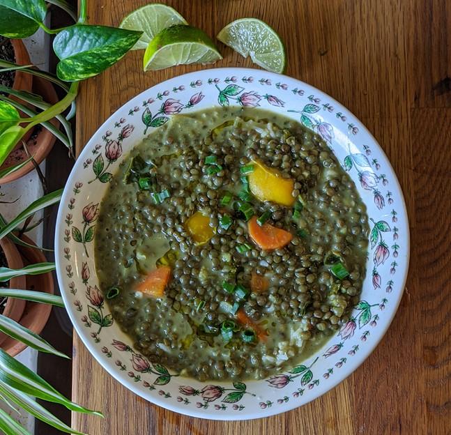 Thai curry - PHOTO: SARAH MCALEE