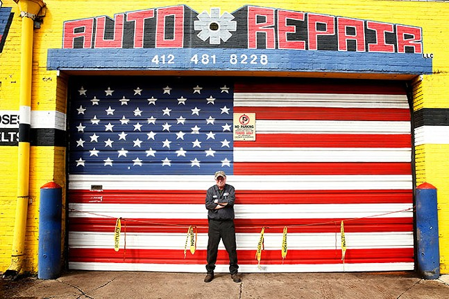 Edward Wahl, owner of Wahl's Auto Repair in the South Side - CP PHOTO: JARED WICKERHAM