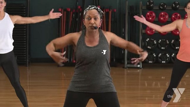 YMCA online workouts