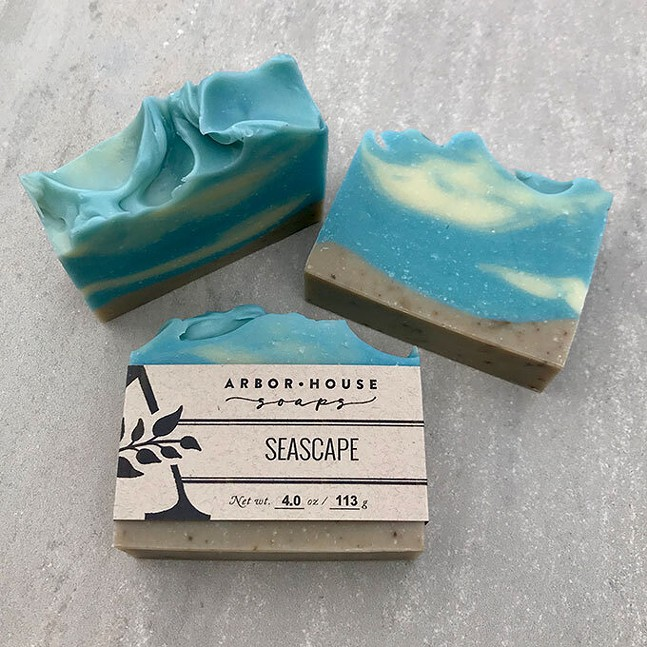 Seascape by Arbor House Soaps - ARBOR HOUSE SOAPS