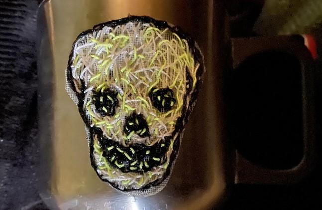 Be Social With Distant Crafting Kit skull design BySongbird Artistry - SONGBIRD ARTISTRY
