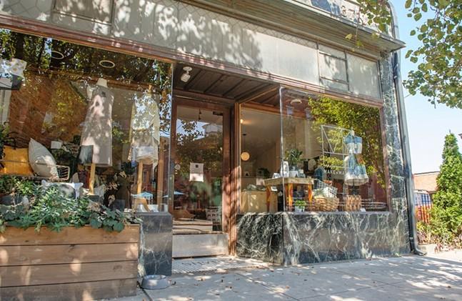 Make + Matter storefront in Lawrenceville - MAKE + MATTER