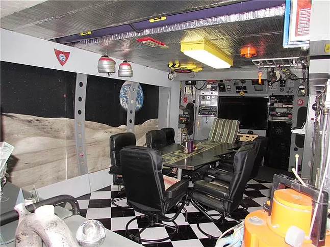 Dining room? Conference room? Spaceship? - COURTESY OF ZILLOW