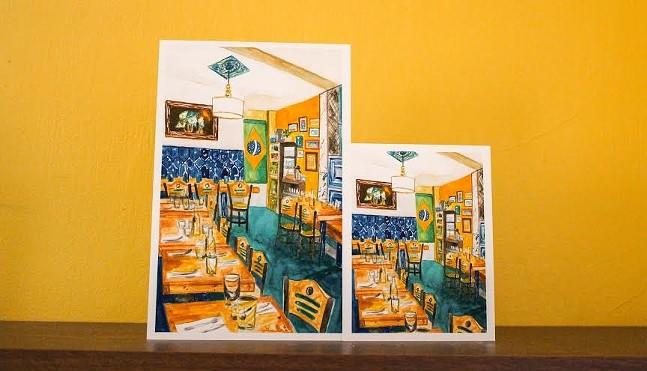 Casa Brasil postcards by Sophia Fang - PHOTO: SOPHIA FANG
