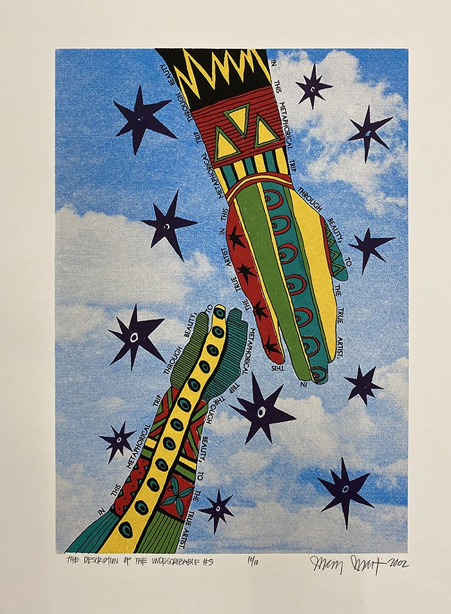 Artwork by Mary Martin, to be included in AIR's online auction on Instagram - IMAGE COURTESY OF ARTISTS IMAGE RESOURCE