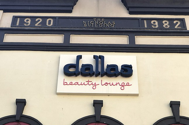 Dallas Beauty Lounge in Downtown Pittsburgh's Market Square - CP PHOTO: RYAN DETO