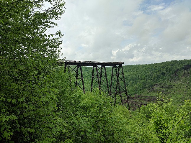 Kinzua Bridge State Park - CP PHOTO: LISA CUNNINGHAM