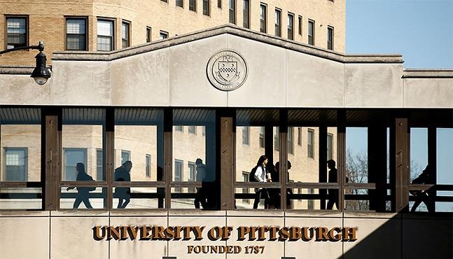 University of Pittsburgh campus - CP PHOTO: JARED WICKERHAM