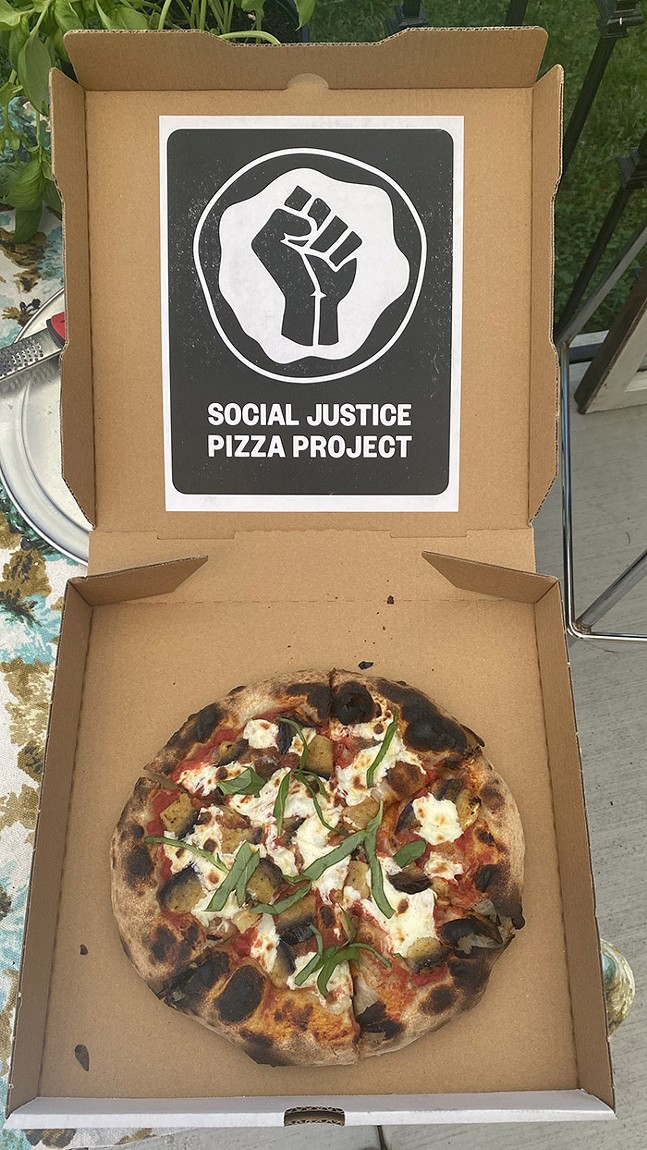 Social Justice Pizza Project - PHOTO: STEPHEN TURSELLI