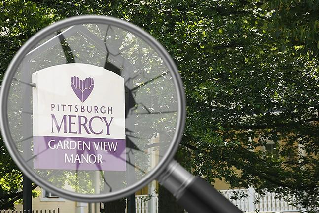 Pittsburgh Mercy Garden View Manor in Wilkinsburg - CP PHOTO: JARED WICKERHAM
