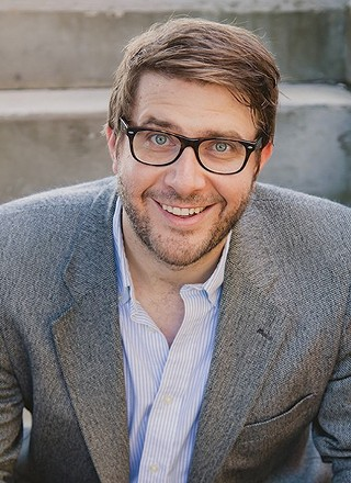 Pittsburgh writer Jonathan Auxier - PHOTO: LIBBY HILF