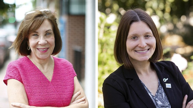 Pam Iovino and Lissa Geiger Shulman - CP PHOTO: JARED WICKERHAM (LEFT); COURTESY OF CAMPAIGN (RIGHT)