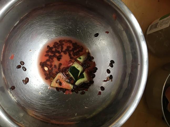 So many seeds, so little time. - CP PHOTO: HANNAH LYNN