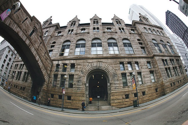 The Allegheny County Courthouse in Downtown Pittsburgh - CP FILE PHOTO: HEATHER MULL
