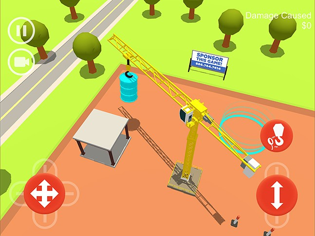 Hooked! A Tower Crane Game - IMAGE: SIMCOACH GAMES