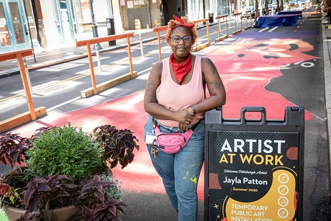 Jayla Patton - PHOTO: RENEE ROSENSTEEL/PITTSBURGH DOWNTOWN PARTNERSHIP