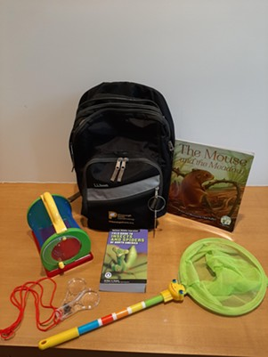 The Meadow Backpack - PHOTO: PITTSBURGH PARKS CONSERVANCY