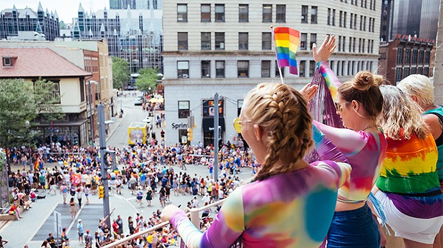 The Pittsburgh Pride Equality March on June 9, 2019 in Downtown - CP PHOTO: JARED MURPHY