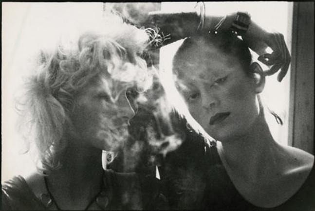 Donna Jordan and Jane Forth by Peter Beard, part of Femme Touch at the Andy Warhol Museum - PHOTO: PETER BEARD/LICENSED BY ARTISTS RIGHTS SOCIETY (ARS), NEW YORK