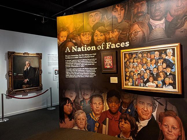 Smithsonian's Portraits of Pittsburgh at the Senator John Heinz History Center - CP PHOTO: AMANDA WALTZ