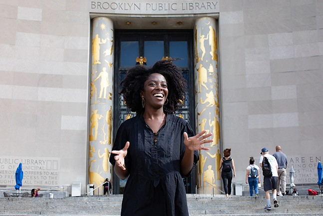 White Whale Books presents Yaa Gyasi on Mon., Oct. 5, 2020. - PHOTO: PETER HURLEY/VILCEK FOUNDATION