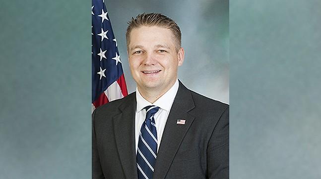 State Rep. Aaron Bernstine (R-New Beaver)
