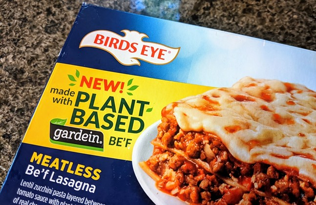 Birds Eye Meatless Be'f Lasagna - CP PHOTO: AMANDA WALTZ