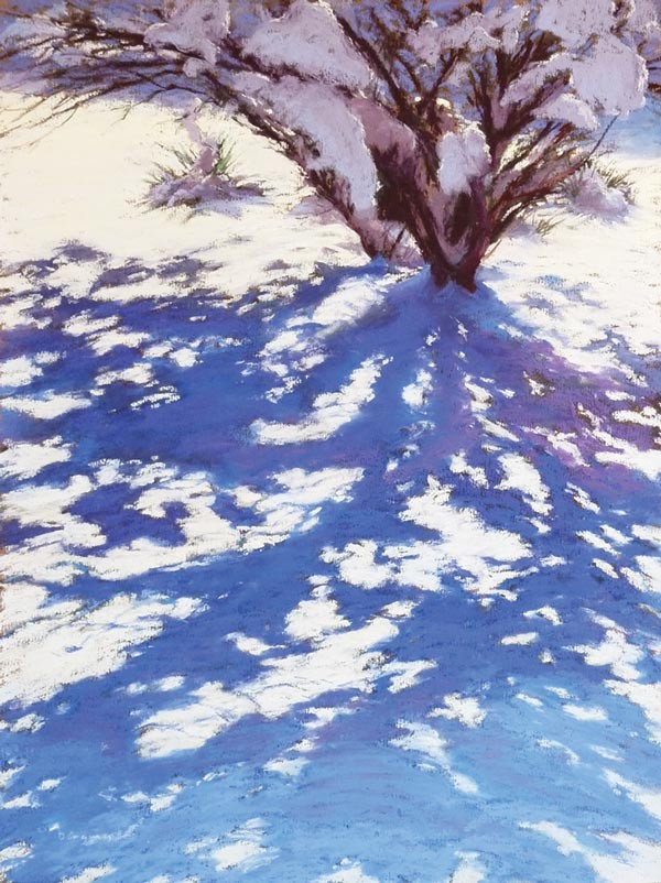 """""""Shadows on Snow,"""" by Diane Grguras - IMAGE COURTESY OF GALLERY ON 43RD STREET"""