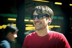 Rambling man: Lukas Borsten - PHOTO COURTESY OF DAWN JONES REDSTONE